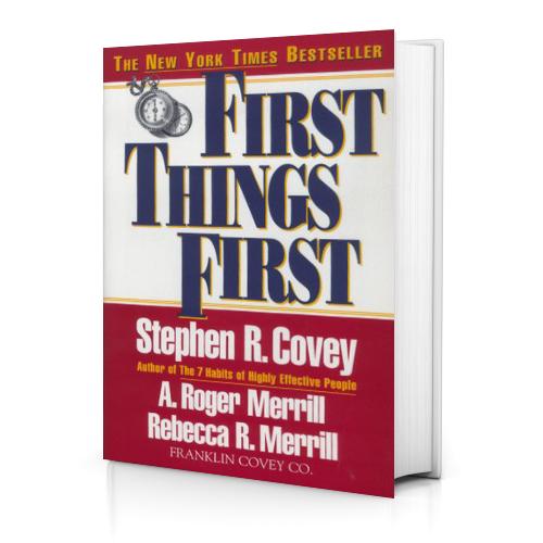 جلد کتاب اولویت دادن بر اولویت ها